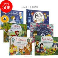Pop Up 3D Board Book Pop And Play FAIRY TALE 6 Buku Cerita Anak
