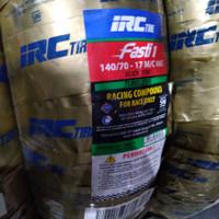 ban balap IRC FASTI 1 uk 140/70-17 ring 17 Slick Tire Soft Compound