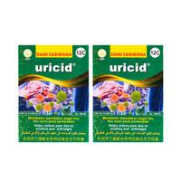 URICID 100 Pil [TWINPACK] Meredakan Asam Urat & Pegal Linu