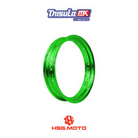 VELG SUPERMOTO TMX ALUM MT RIM 3.00x17 36H - GREEN