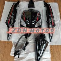 Cover body mio sporty full set halus plus striping