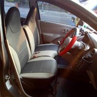 Sarung Cover Jok Datsun Go+ Panca 3 Baris Ferrari Ready Stock