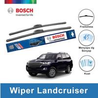 Bosch Sepasang Wiper Mobil Toyota Landcruiser Frameless 24&22