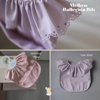 Mellow - Bib Celemek Bayi Waterproof Import - Ballerina Bib