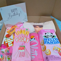 GIFT Box K-Pop edition T-shirt BTS and Snack