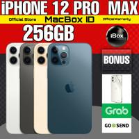 Apple iPhone 12 PRO MAX 256 GB 256GB Blue Graphite Gray Resmi iBox