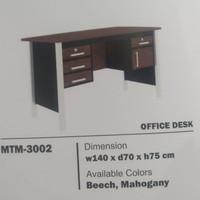 meja kantor 1 2 biro kayu MTM3002