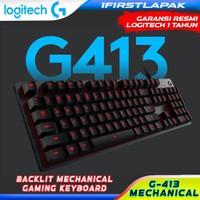 Logitech G413 Mechanical Backlit Gaming Keyboard Original Keyboard
