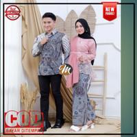 Batik Couple Kebaya Atasan Wanita Brokat Modern Baju Kondangan lamaran