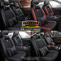 Sarung jok mobil innova G V E J luxury Reborn capten seat DLL free thn