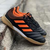 Sepatu futsal Adidas original Copa 20.3 IN SALA black orange new 2020