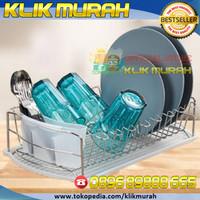 RAK PIRING ELEGANT ASLI SUPRA - Stainless steel dish dryer RAK PIRING