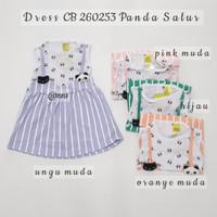 Baju Dress Anak Perempuan CB 260253 Panda Salur