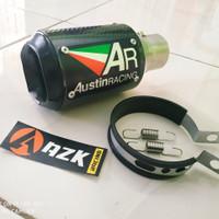 silincer knalpot AUSTIN RACING CBR - R25 - mt25 - NINJA 250 / fi