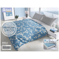 BED COVER KING SET Hawaii by California Size 180x200 VICELLI Motif