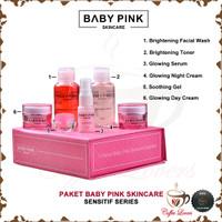 BABYPINK BABY PINK SKINCARE for WHITENING SENSITIF 1 SET ORIGINAL BPOM