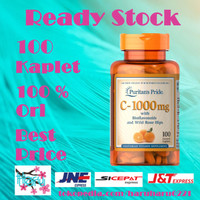 Puritan Vitamin C 1000 mg with Bioflavonoids & Rose Hips 100 Kaplet