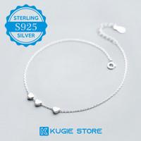 Gelang Kaki Perak Silver S925 Perhiasan Wanita Anklet GK08