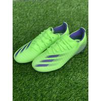 sepatu bola adidas original X GHOSTED.3 FG hijau biru new 2020