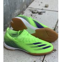 sepatu futsal adidas original X GHOSTED.3 hijau biru new 2020