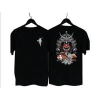 MS. - BF044 Kaos Distro Pria T-Shirt Pria Kaos Pria Samurai Jepang