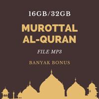 Audio MP3 Murottal Al Quran 30 Juz MICROSD 16GB Isi Pilihan HQ
