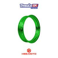 VELG SUPERMOTO TMX ALUM MT RIM 3.50x17 36H - GREEN