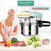 MI900 HAPPY CALL PRESTO 4L - Panci pressure cooker 4 liter