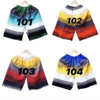 (Paket 4 pcs) Celana Pendek Santai Pria Pantai Surfing