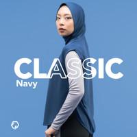 Hijab Olahraga - REYD Classic - Navy