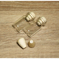 Bottle Clear Charm / Botol Kaca / Clay / Clat / Vial / Pinisilin