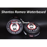 Pomade Shantos Romeo Styling Strong Waterbased Water Based 2.6 Oz BPOM
