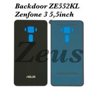 Backdoor Tutupan Baterai Back Casing Asus Zenfone 3 5.5inch ZE552KL - Hitam