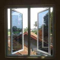 jendela alumunium swing
