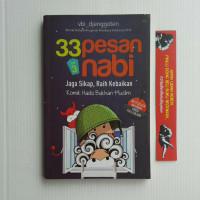 BESTSELLER BUKU ORIGINAL 33 Pesan Nabi Volume 3 komik Anak Islami ufuk