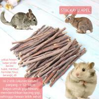 Natural Apple Orchard Chew Stick Kayu Apel Perawatan Gigi sugar glider
