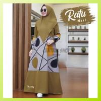 Baju Gamis Wanita Jumbo Terbaru Murah - Gamis Pesta - Ratu Maxi Dress