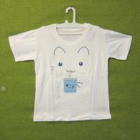 RYAN CLUB COLLECTION Basic T-Shirt Cotton Gambar Kucing|Baju Kaos Anak
