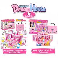 [ Um ] Handbag Dream House Frozen&Hello Kitty series Bedroom & Kitchen
