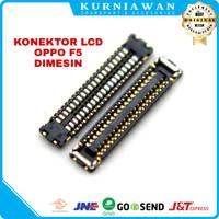 Konektor Lcd Soket Lcd Connector Lcd Fpc Oppo F5 40 Pin