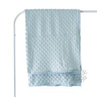 Dot Minky Blanket Thin Infant - Baby Loop - BabyLoop