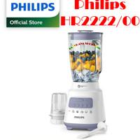 Blender-Blender Kaca- Blender Gelas PHILIPS HR2222/00 Lavender 2L 350W