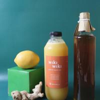 1 Liter - G1 - Jahe, Madu & Air Lemon - Ginger, Honey & Lemon Water