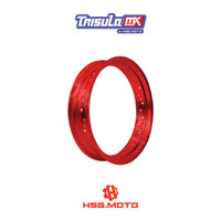 VELG SUPERMOTO TMX ALUM MT RIM 3.50x17 32H - RED