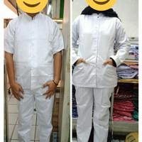 Baju perawat /seragam bidan RS ( Lengan Panjang )