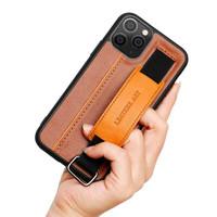 iPhone 12 Mini 12 Pro 12 Promax Casing Handstrip Card Leather Art Case
