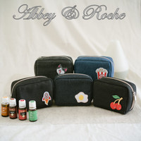 Pouch Oil YLO Jeans 6 Slot by Abbey.Roche