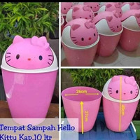 S&S Tempat Sampah hello kitty pink 10liter