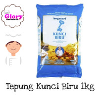 tepung terigu kunci biru 1 kg