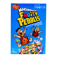 Post Cereal - Cocoa Pebbles/ Rice Cereal Fruity Pebbles